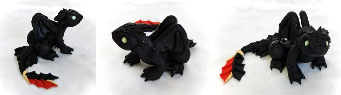 Toothless the Nightfury by Shemychan