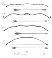 Elven Bows by catnmaus