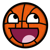 Basketball Awesome Smiley by E-rap