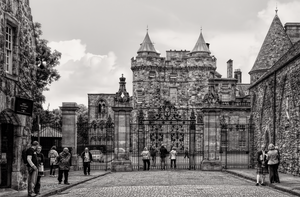 Edinburgh - The Palace of Holyroodhouse by pingallery