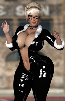 Black Kitty ( Updated ) by SiZE-MaTTERz