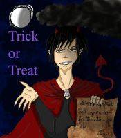 Izaya - Trick or Treat by andersss