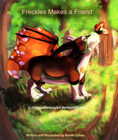 Freckles Makes a Friend -Art Studio II Assignment by iiDragonfantasyArt