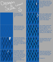 Dragon Scale Tutorial by Nightscales