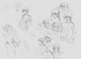 silly sketches...... by ls2-TheBloodOfPeace