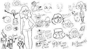 Doodle page by booper101