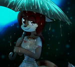 Cait All Wet by snugglejpg