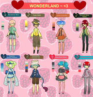 OPEN Offer-To-Adopt Wonderland Gemstones by 77SAR77