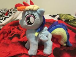 my little pony Rainbow Dash Filly plush by Little-Broy-Peep