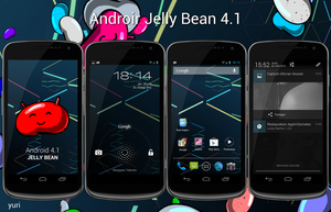 Jelly bean by yuyudroid
