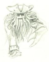 Davy Jones on the prowl by kleeng