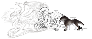 Cornipes- Apex Predators WIP by SoldierYena