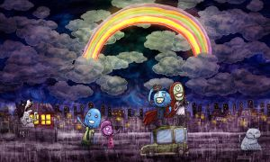 Nocturnal Rainbow by avid