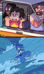Steven Universe/Ponyo Crossover by ET-the-Nerdling