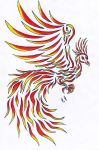 phenix tatoo by dragonqueen909