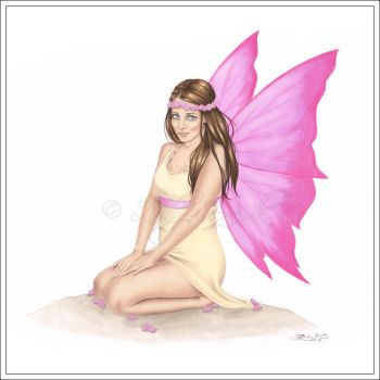 Spring Hope Fairy by Zindy