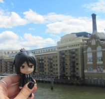 Sebastian and the Butlers Wharf! :D by Melkpso
