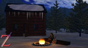 Link's Winter Cabin by HeroofTime123