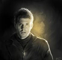 Dean and Cas by Bran1313