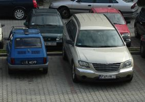 Two Cars by Abrimaal