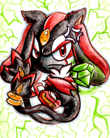 Shadow the Mespirit by no1shadow