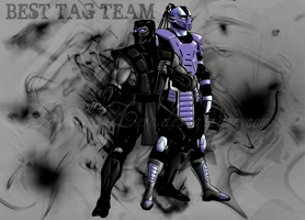 Noob-Smoke - Best Tag Team by IamSubZero
