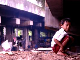 reality Indonesian children by adhitriputra