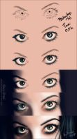 Eyes - step by step by MonicaHooda