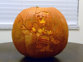Oni Pumpkin 2 by ceemdee