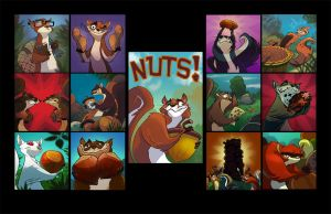 Aww Nuts... by Brett2DBean