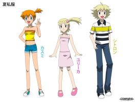 PKMN V - Summer Outfit Project 2 by Blue90