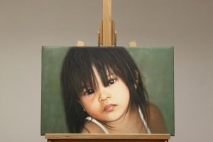 Philippines Child Oil Painting by Oil-Gallery