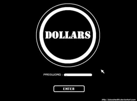DOLLARS by bloodred06