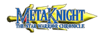 Metaknight The Star Warrior Chronicle Logo by KingAsylus91