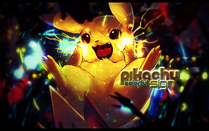 Pikachu Signature by mAno971