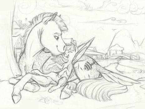 (WIP)- A Day with Dad by Earthsong9405