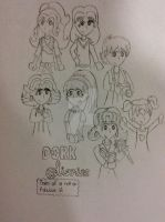 [DAKA_Sketch] Dork Diaries (unfinished) by TheMidnight-Sound