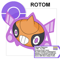 rotom rhythm form by Cerulebell