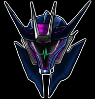 Soundwave Helm by Laserbot