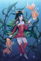 C O L E - Kelp Forest by Blue-Fishies