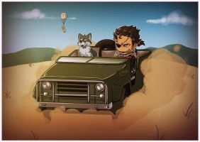 MGSV: Cars by TricksyPixel