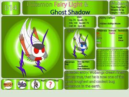 Pokemon Fairy Light and Ghost Shadow ''014'' by AndkeAnka