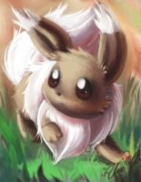 Eevee speed art by UmiKit