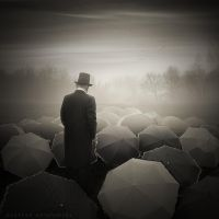 Umbrella man by Alshain4