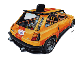 Renault 5 Turbo Funky Five by vsdesign69