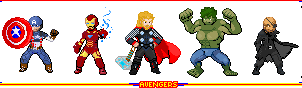 Marvel Movie Avengers by ps2105