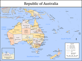 Republic of Australia by Tullamareena