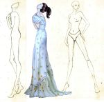 Anne Hathaway Early Fashion Illustration by BasakTinli