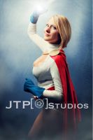 POWER GIRL with Amy by TREXMAN