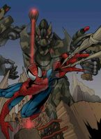 spiderman vs transformers 2 by doriefs